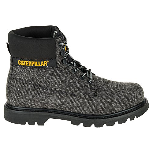 Caterpillar Mens Colorado Cuir Casual Bottes Gris