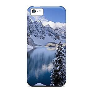 Awesome Case Cover/iphone 5c Defender Case Cover(moraine Lake In Winter Canada)