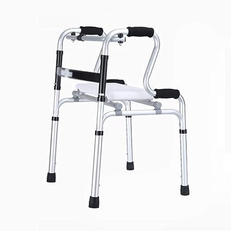 Glumlly Andador discapacitado con Asiento Acolchado ...