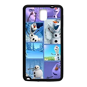 Frozen lovely happy snow man Cell Phone Case for Samsung Galaxy Note3