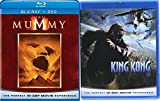 King Kong + The Mummy Blu Ray Amazing Fantasy Double Movie Feature