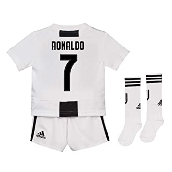 lowest price 8aad2 b38fd UKSoccershop 2018-19 Juventus Home Mini Kit (Cristiano ...