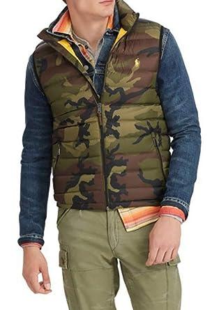 Down Mens Packable At Camo L Amazon Polo Large Lauren Vest Ralph 2YeWbEIH9D