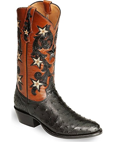 Tony Lama Men's Signature Series Full Quill Ostrich