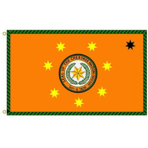 Cherokee Nation Flag 3x5ft outdoor