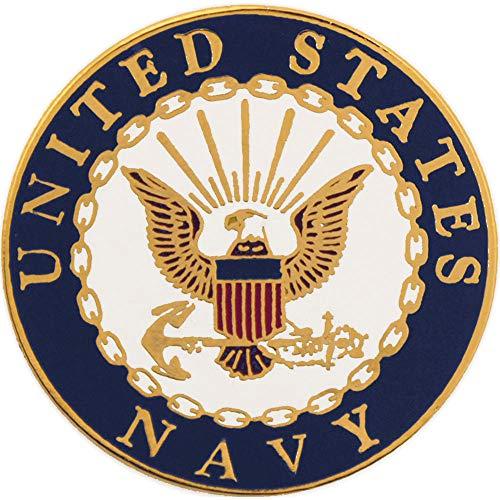 Navy Lapel Pin - United States Navy USN Logo Seal 1