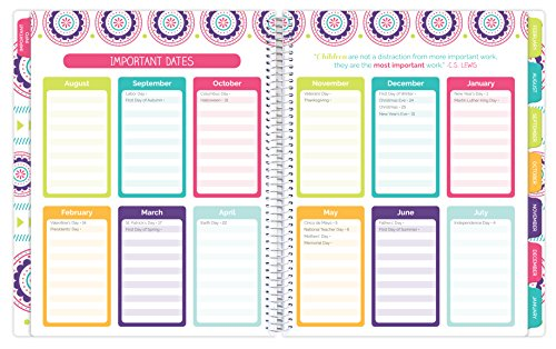 Bloom daily planners undated academic year teacher planner for Office planner online