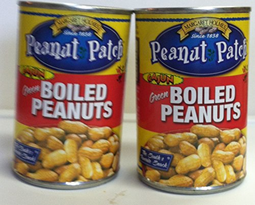 Peanut Patch Cajun Green Boiled Peanuts Two -13.5 Oz. Cans