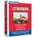 Lithuanian, Compact: Learn to Speak and Understand Lithuanian with Pimsleur Language Programs