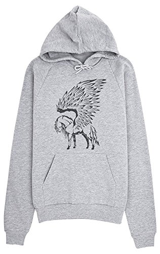 Awesome Pegasus Drawing Women's Hoodie Pullover