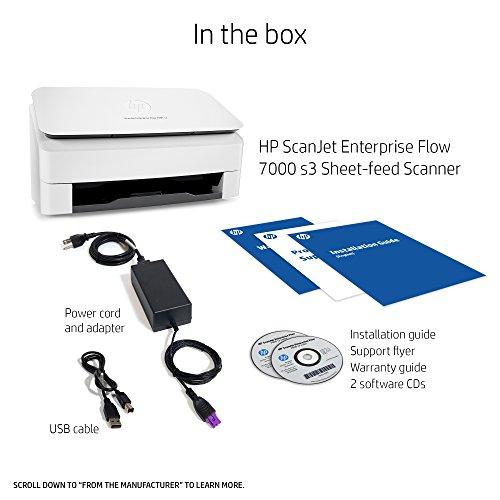 HP ScanJet Enterprise Flow 7000 s3 Sheet-feed OCR Scanner by HP (Image #4)