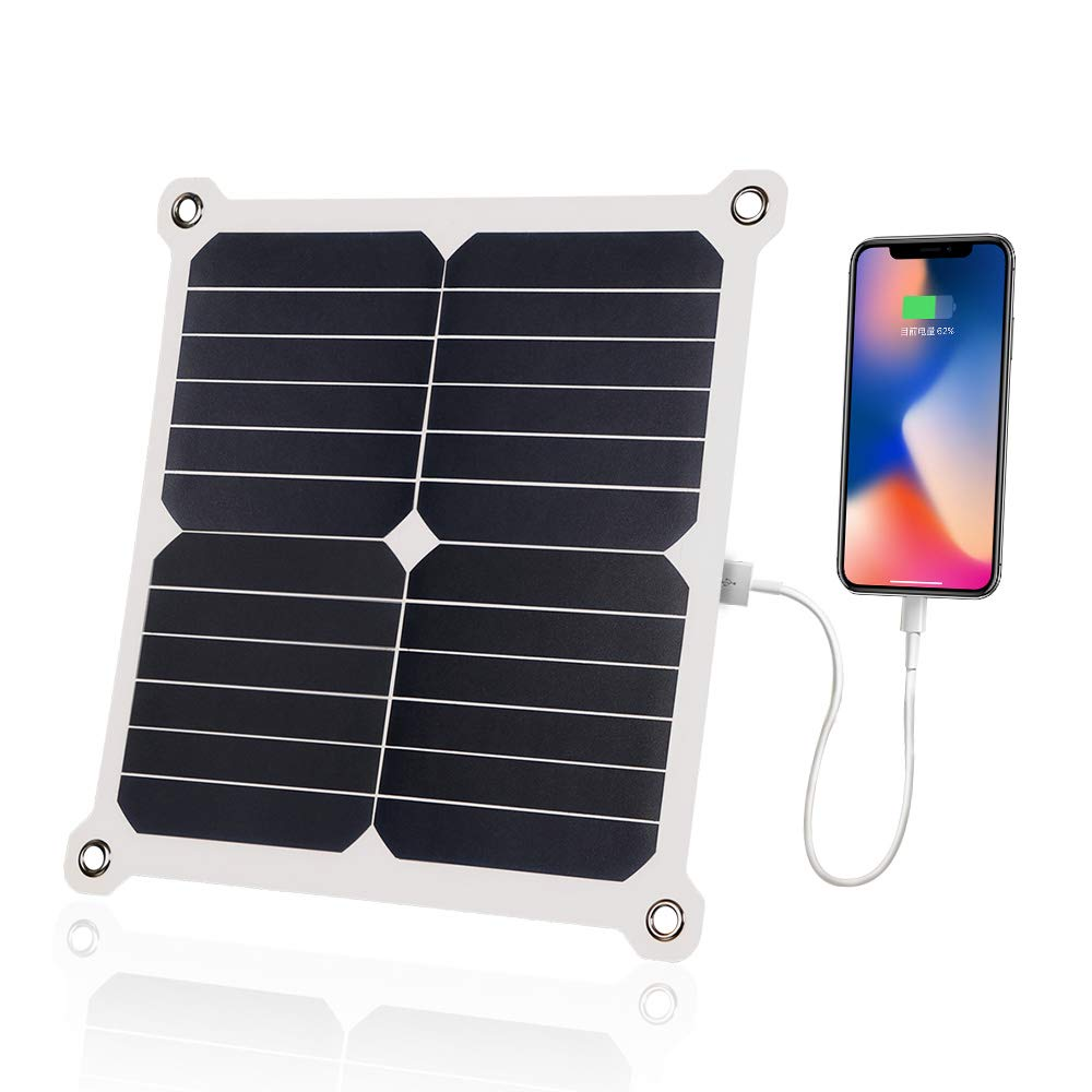 SUNKINGDOM 13W 5V USB Port Ultra-Thin Portable Outdoor Solar Panel Charger for All USB Devices