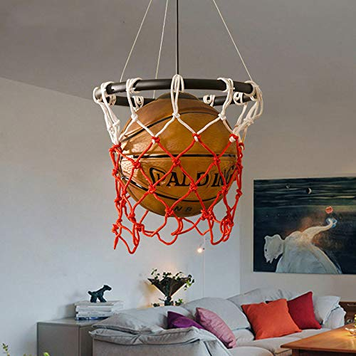 FidgetGear Basketball Pendant Light Glass Ceiling Lamp Retro Suspension Chandelier Fixture by FidgetGear (Image #4)