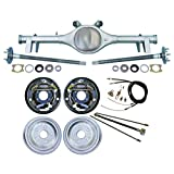 "Southwest Speed Rear Kit WITH CURRIE REAR END,10"" DRUM BRAKES,BRAKE LINES,PARKING BRAKE CABLES,AXLES, BEARINGS, FOR 1964,1965,1966 GM A-BODY CHEVELLE, EL CAMINO, MALIBU,SKYLARK, OLDS CUTLASS, 442"