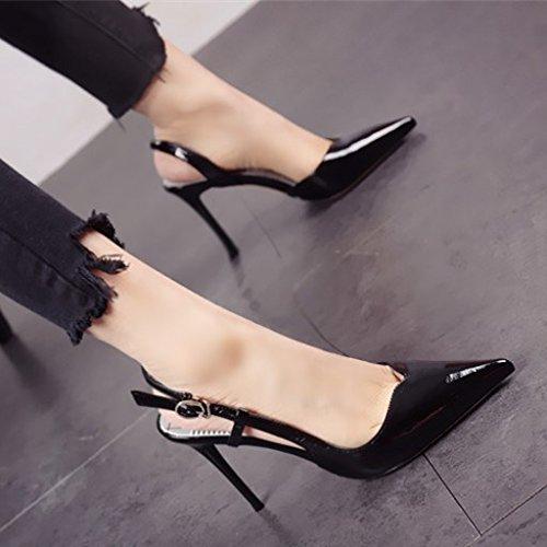 con altos b zapatos de FLYRCX elegante los tacones Personalidad y estilo de europeo alto tacón 0qBwxXTf