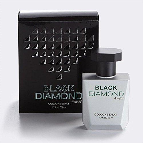 Men's Rue 21 Black Diamond Cologne Spray 1.7 Ounce New In Box (Rue 21 Carbon)