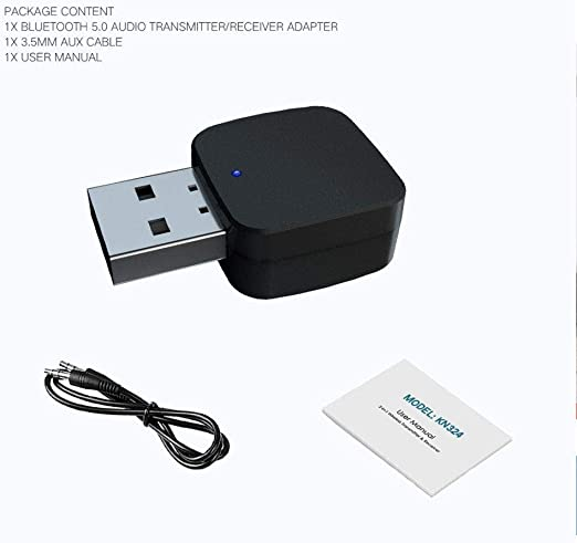 Adaptador Bluetooth USB 5.0, dongle Bluetooth para auriculares ...