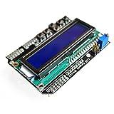 XO LCD 1602 Module Display for Arduino ATMEGA328 ATMEGA2560 raspberry pi UNO blue screen