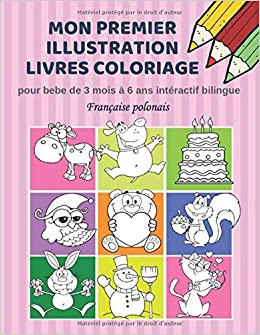 Mon Premier Illustration Livres Coloriage Pour Bebe De 3