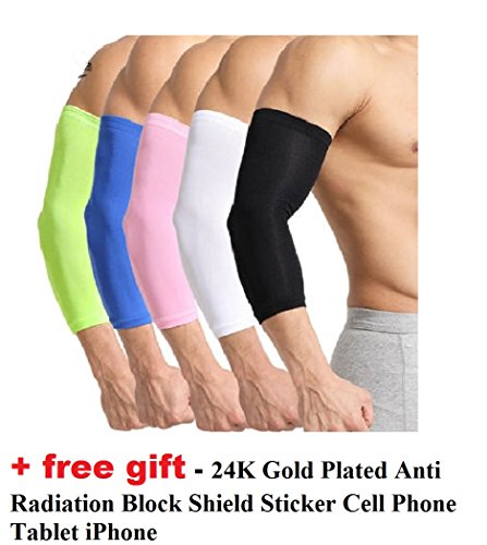 2Pair Cooler Arm Sleeves UV Protection for Cycling/ Outdoor Activity - Cycling Coolers Best Arm