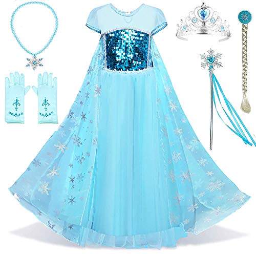 with Elsa Costumes design