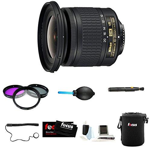 Nikon AF-P DX NIKKOR 10-20mm f/4.5-5.6G VR Lens Deluxe Accessory Kit