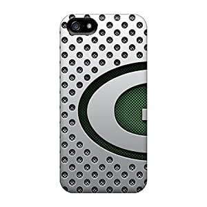 Tpu Case Cover For Iphone 5/5s Strong Protect Case - Green Bay Packers Design by Maris's Diary