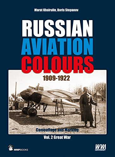 Russian Aviation Colours 1909-1922. Volume 2: Great War (Camouflage and Marking)