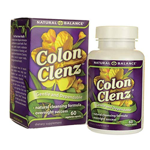 Natural Balance, Colon Cleanz Gentle, 60 Veg Capsules