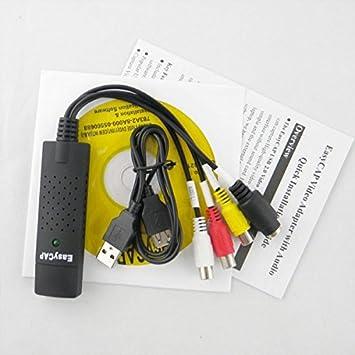 Transfert convertir des cassettes VHS magnétoscope vidéo à l'ordinateur PC  enregistrement DVD Win7 USB