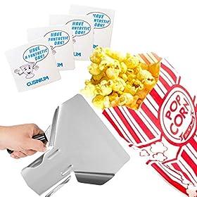 Carnival King Bundle 1 oz Popcorm Bag + Scooper + Coasters