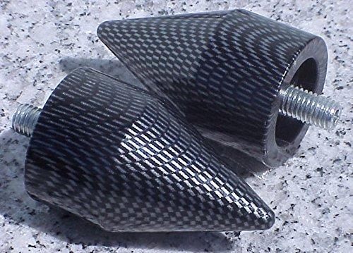 i5 Kawasaki Ninja 250 300 500 650 ZX6 ZX6R ZX7 ZX9 ZX10 ZX10R ZX12 ZX14 CARBON BAR ENDS
