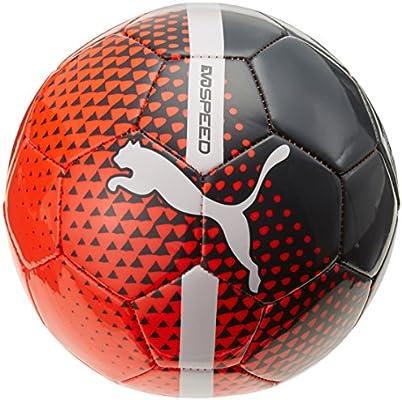 PUMA evoSALA 3 082666 01 - Balón de fútbol, Color Rojo, Negro y ...