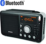 Eton NGWFBTB Field AM / FM / Shortwave Radio With RDS And Bluetooth for streaming, Rf Gain Control, Fine Digital Tuning, FM Telescopic Antenna, Carrying Strap, 1 - Pack