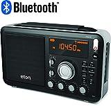Eton AM/FM/Shortwave Radio with Bluetooth Streaming Shortwave Radio, Black (NGWFBTB)