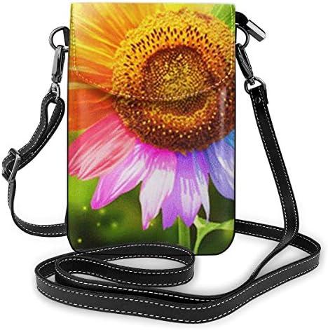 ミニバッグ スマホポーチ 斜めがけ ミニポシェット 七色花 ミニショルダーバック 携帯 ケース ミニポーチ おしゃれ 人気 かわいい 小さめ 多機能 軽量 プレゼント レディース