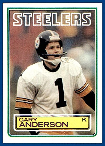 1983 Topps #356 Gary Anderson RC Kicker ROOKIE PITTSBURGH STEELERS SYRACUSE ORANGMEN (nrmt-mint)