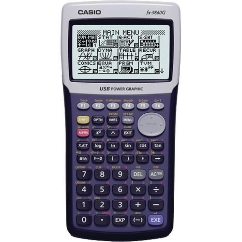 Casio Graphing Calculator FX-9860G-L-IH