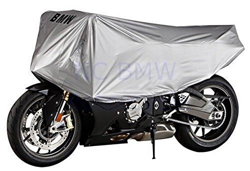 BMW Genuine Half 1/2 Motorcycle Cover - Small R1200GS Adventure R1200R R1200RT F800GS F650GS (Twin) F800GT F800ST F800R K1200LT K1300GT K1300S K1600GT K1600GTL G650GS G450X S1000RR HP2 Sport