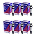 12590990 Ignition Coil ACDelco D515C C1555 GN10494 D597A for buick cadillac 6 PACK