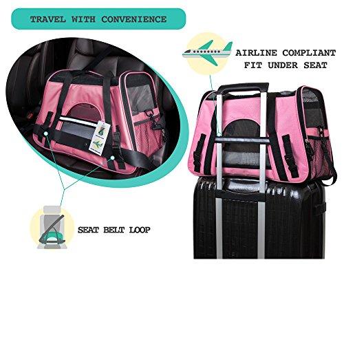 PetAmi Soft-Sided Pet Travel Carrier