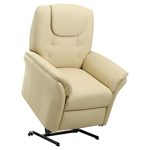 WINDSOR ELECRTIC RISE RECLINER LEATHER ARMCHAIR SOFA HOME LOUNGE CHAIR (Cream)  sc 1 st  Amazon UK & WINDSOR ELECRTIC RISE RECLINER LEATHER ARMCHAIR SOFA HOME LOUNGE ... islam-shia.org