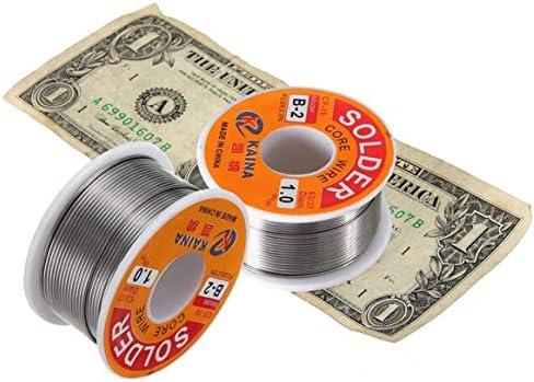 63//37 1mm Tin Lead Rosin Core Solder Flux Soldering Welding Iron Wire Reel Hot