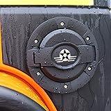 AVOMAR Matte Black Aluminum Fuel Filler Door