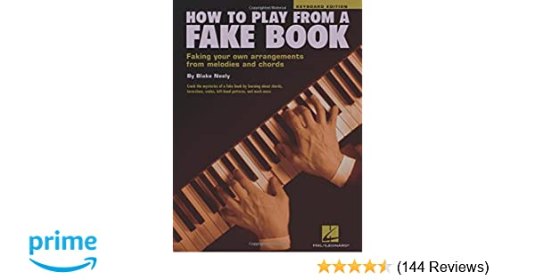 How To Play From A Fake Book Keyboard Edition Blake Neely