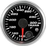 Speedhut GR20-TT02 Trans Temp Gauge 140-300F (With Warning LED), 2-1/16''