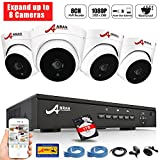 ANRAN 8 Channel 1080P POE Security Camera System