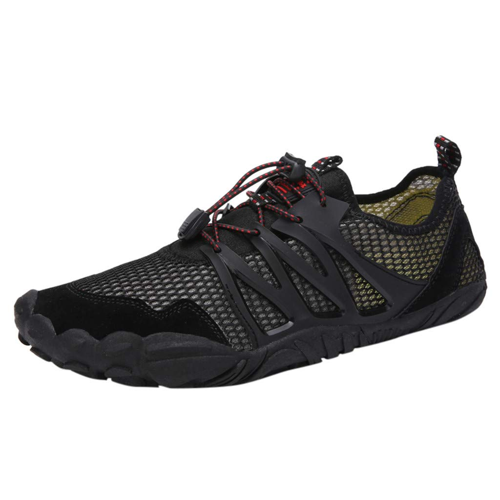 lkoezi Swimming Shoes, Fashion Couple Models Breathable Shoes Wading Shoes Outdoor Sports Shoes Casual Running Sneakers