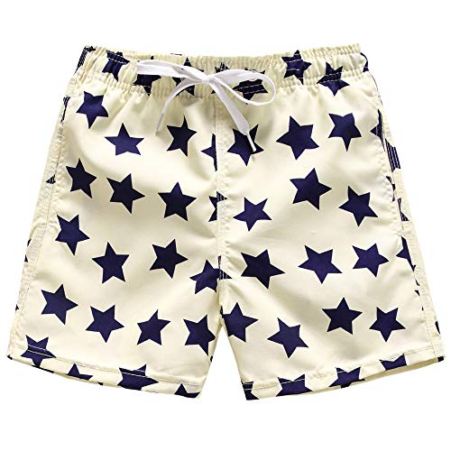107ff8c077 Kqpoinw Baby Boys' Swim Trunks Kids Quick Dry Beach Board Shorts Swimsuit  for Boys (XL: 10 (9-10 Years), Beige)