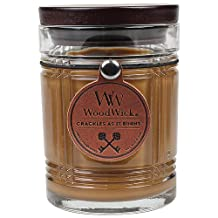 WoodWick 1-Piece Humidor Reserve Candle, Brown